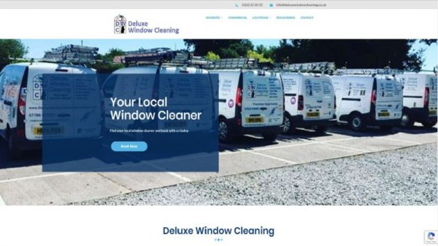 Deluxe Window Cleaning Website